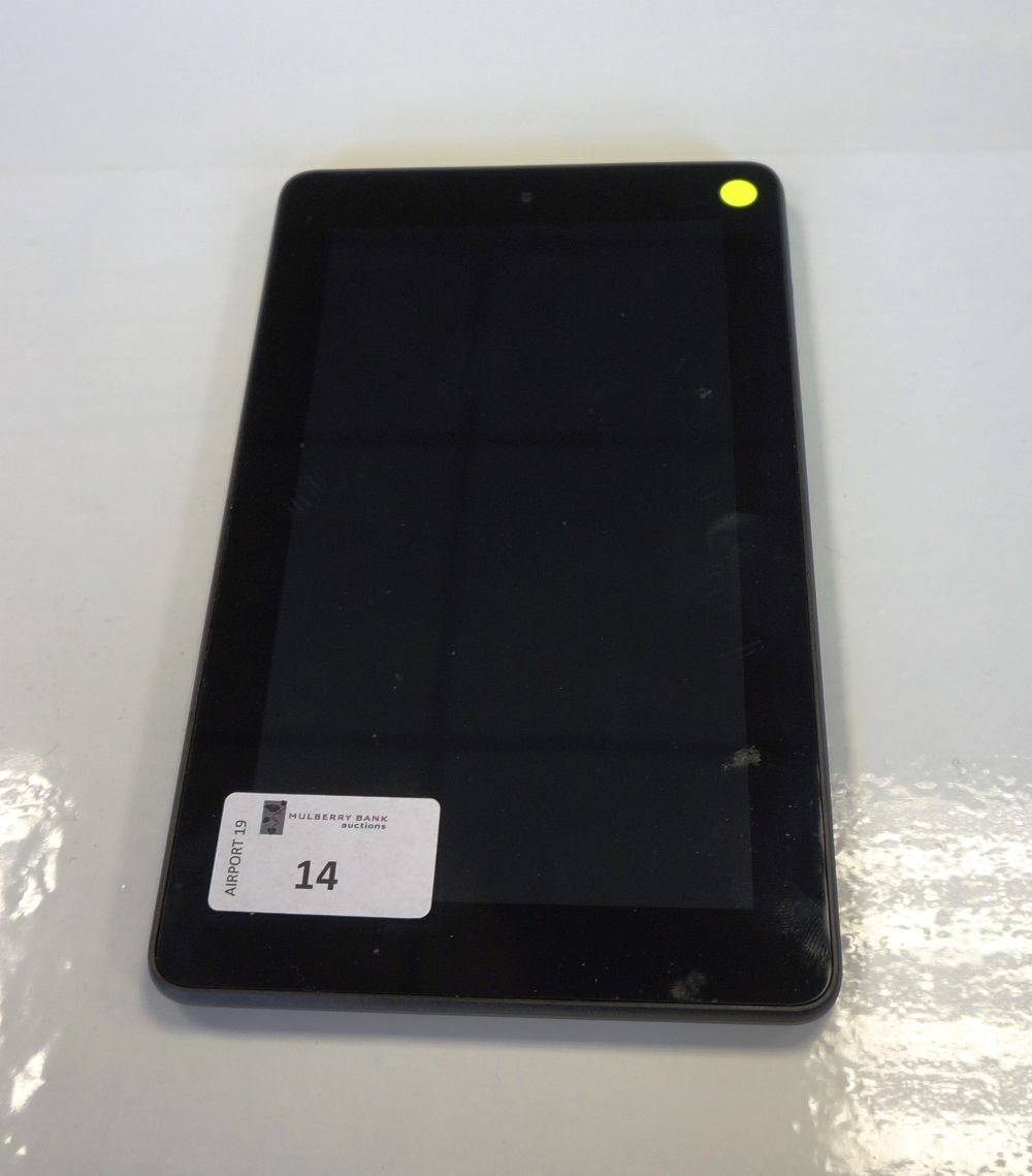 KINDLE FIRE (5TH GENERATION) serial number: G000 H404 5455 05V6