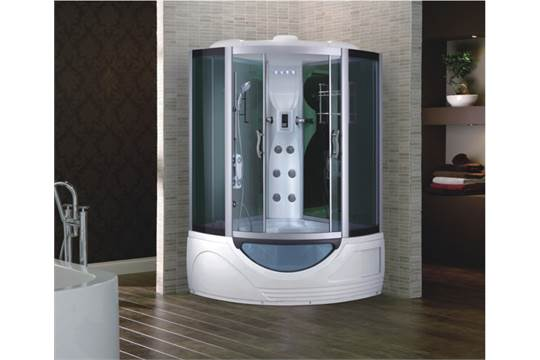 steam bath shower cubicle with tv spa corner bath with