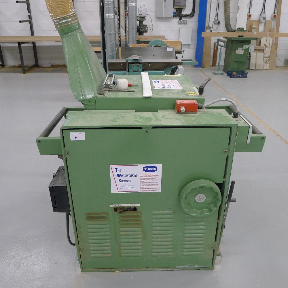 Lot 9 - 1 thicknesser by Wadkin Bursgreen type BT500, s/n 72124, 3ph