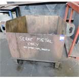 3 Scrap Bins including Contents