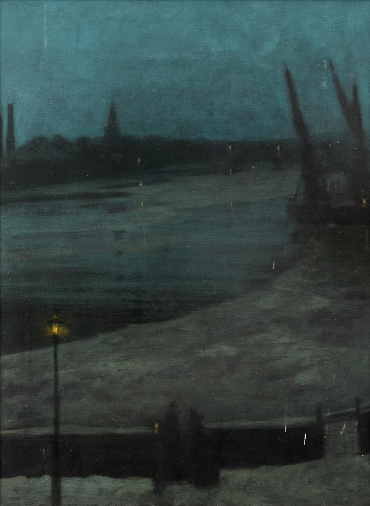Walter Greaves (British 1846-1930), Nocturne