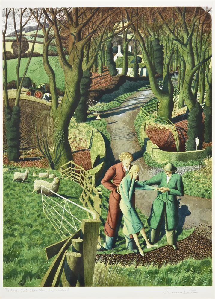 Simon Palmer (British b. 1956), Today