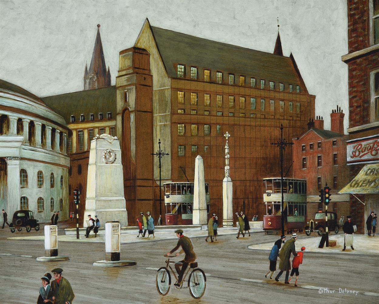 Arthur Delaney (British 1927-1987), St. Peter's Square