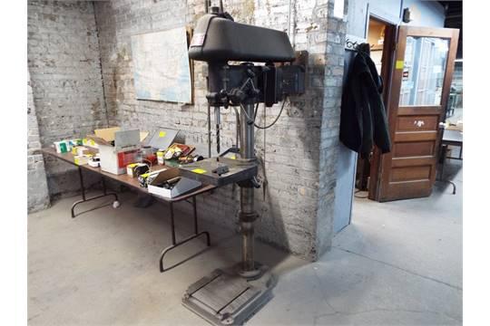 cincinnati royal model 18a floor standing drill press s/n 18-a6561