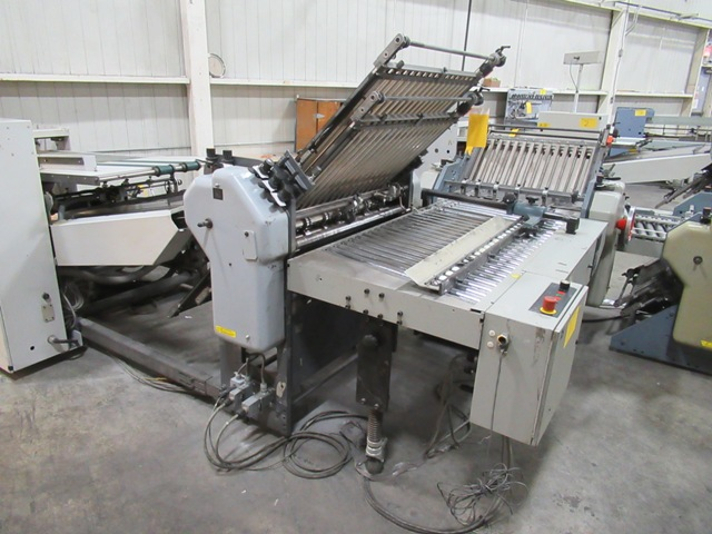 Lot 1 - HEIDELBERG STAHL B-30/4 BRD CONTINUOUS FEED FOLDER, S/N 701019-160NE171W, W/PRESCORE SHAFT 8 & 16