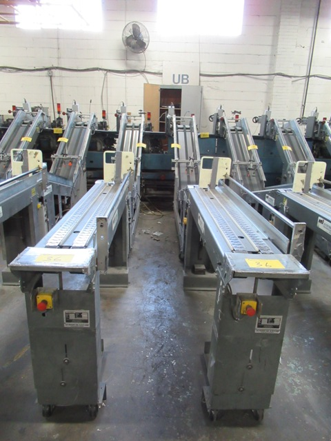 Lot 36 - LOT, 2006 2 ASST. ST-I CONVEYOR BUNDLE LOADERS S/N LEC00496, 503 MOD # LEC-6