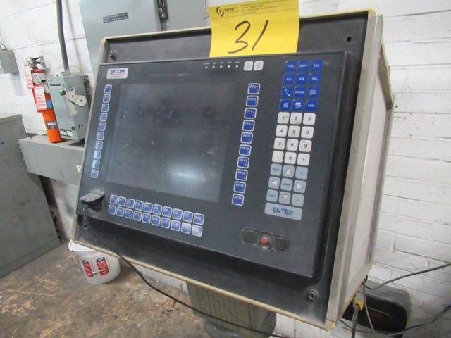 Lot 31 - SHERIDAN UB 227 PERFECT BINDING LINE W/XYCOM AUTOMATION PRO-FACE TOUCH SCREEN CONTROLLER, SHERIDAN