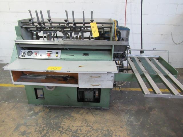 Lot 43 - HUNKELER AG 4EA-400 3X220 TIPPER, S/N 4972/5