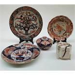 (Aziatica) Lot Imari porselein, Japan, 18e, 19e en 20e eeuw