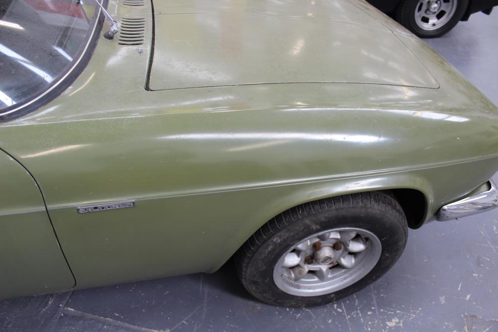 Lot 564 - 1968 Reliant Scimitar GTE SE5A (believed to be motor show car). Original black rexine interior.
