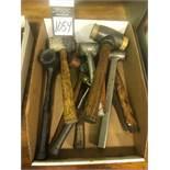 Assorted Hammer Hand Tools