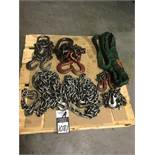 Assorted Strap and Lifting Chain