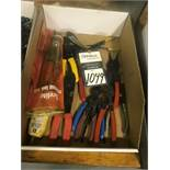 Assorted Snap Ring Pliers and Electrical Wire Stripping/Cutting Hand Tools