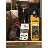 Assorted Electrical Clamp Meter Hand Tools
