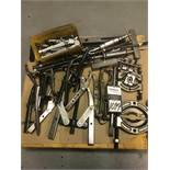 Assorted Puller and Separator Hand Tools