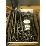 Assorted Sockets and Ratchet Hand Tools