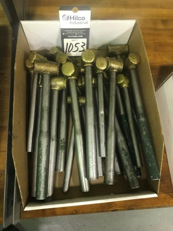 Assorted Brass Hammer Hand Tools - Image 2 of 2