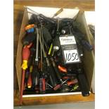 Assorted Screw Driver Hand Tools
