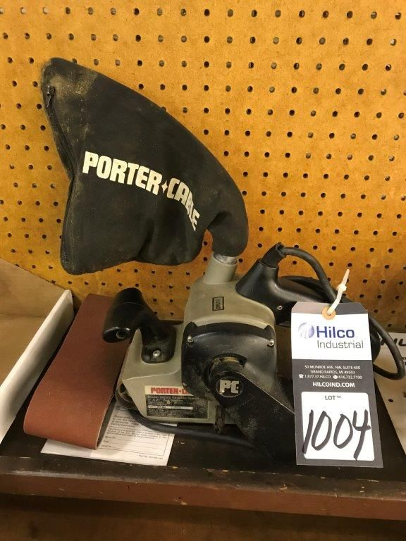 "Porter Cable Model 352VS 3"" X 21"" Belt Sander"