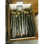 Assorted Brass Hammer Hand Tools