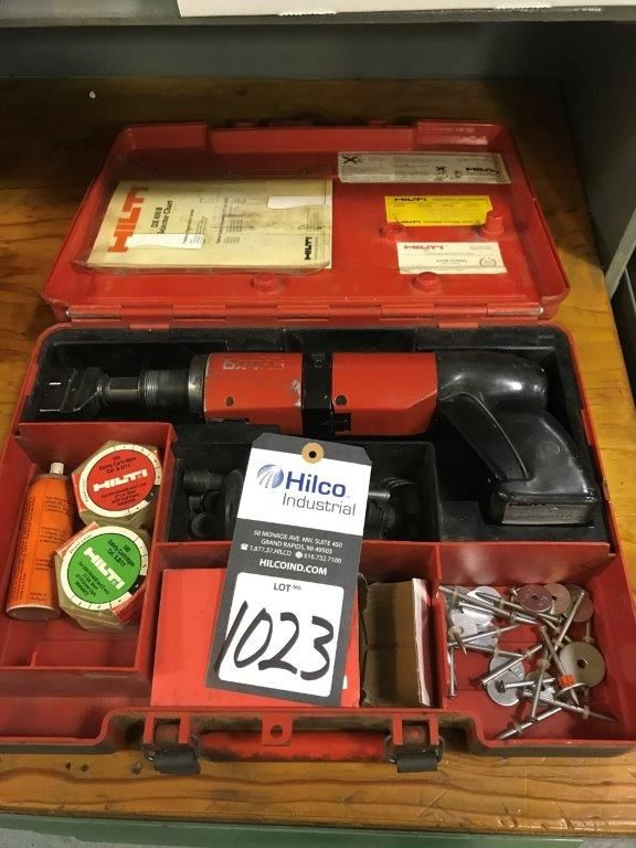 Hilti Model DX400 Piston Driven Hand Tools