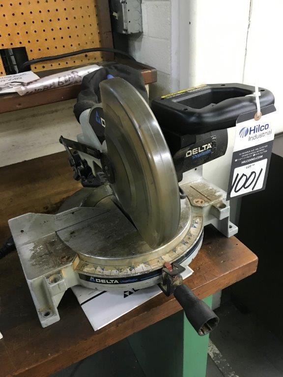 """Delta Model MS250 10"""" Compound Mitre Saw"""