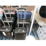 2 x Claiborne Suitcases. Med & Lge). Have a few scuffs but nothing major