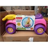 Fisher Price Push N Scoot With Sounds. New with Tags