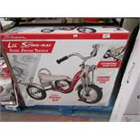 Schwinn Lil Stingray Super Deluxe Tricycle. Boxed