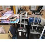 Set of 3 Claiborne Suitcases. Have a few scuffs but nothing major