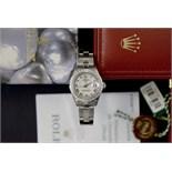 Rolex DateJust 26' - Steel & 18ct White Gold/ Diamond (White Roman Numeral)