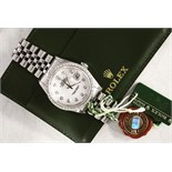 NO RESERVE - Mens Rolex DateJust 36mm (Diamond Dial & Bezel)