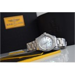 BREITLING COLT - STAINLESS STEEL - MOTHER of PEARL DIAMOND DIAL