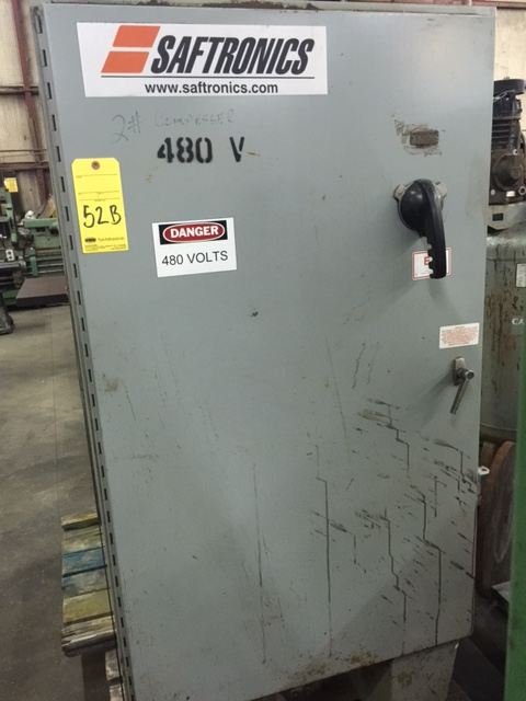 Lot 52B - STARTER, SAFTRONICS MDL. 2033641, 50-60 HZ in/out, 420 amps in/0-420 out, 350 HP in