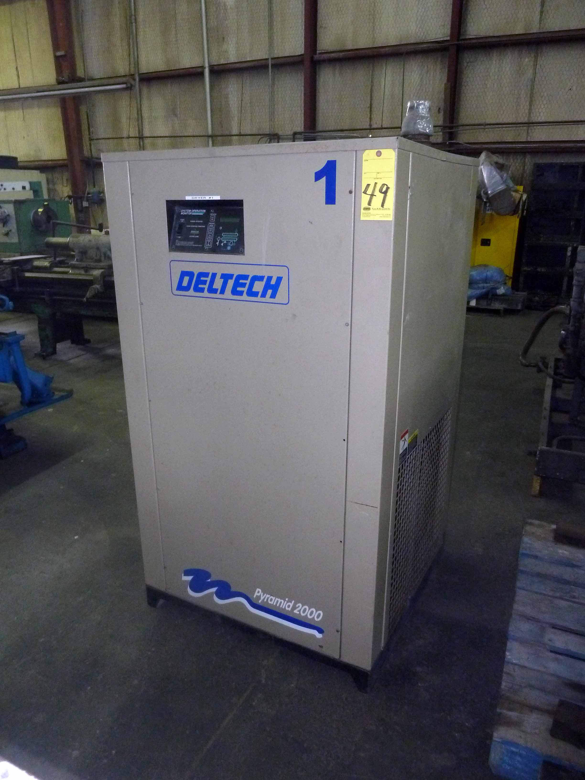 Lot 49 - AIR DRYER, DELTECH PYRAMID MDL. 2000