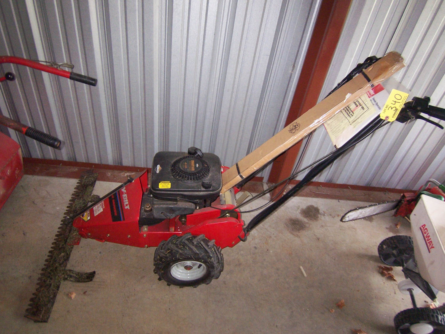 TROY BILT SICKLE BAR MOWER