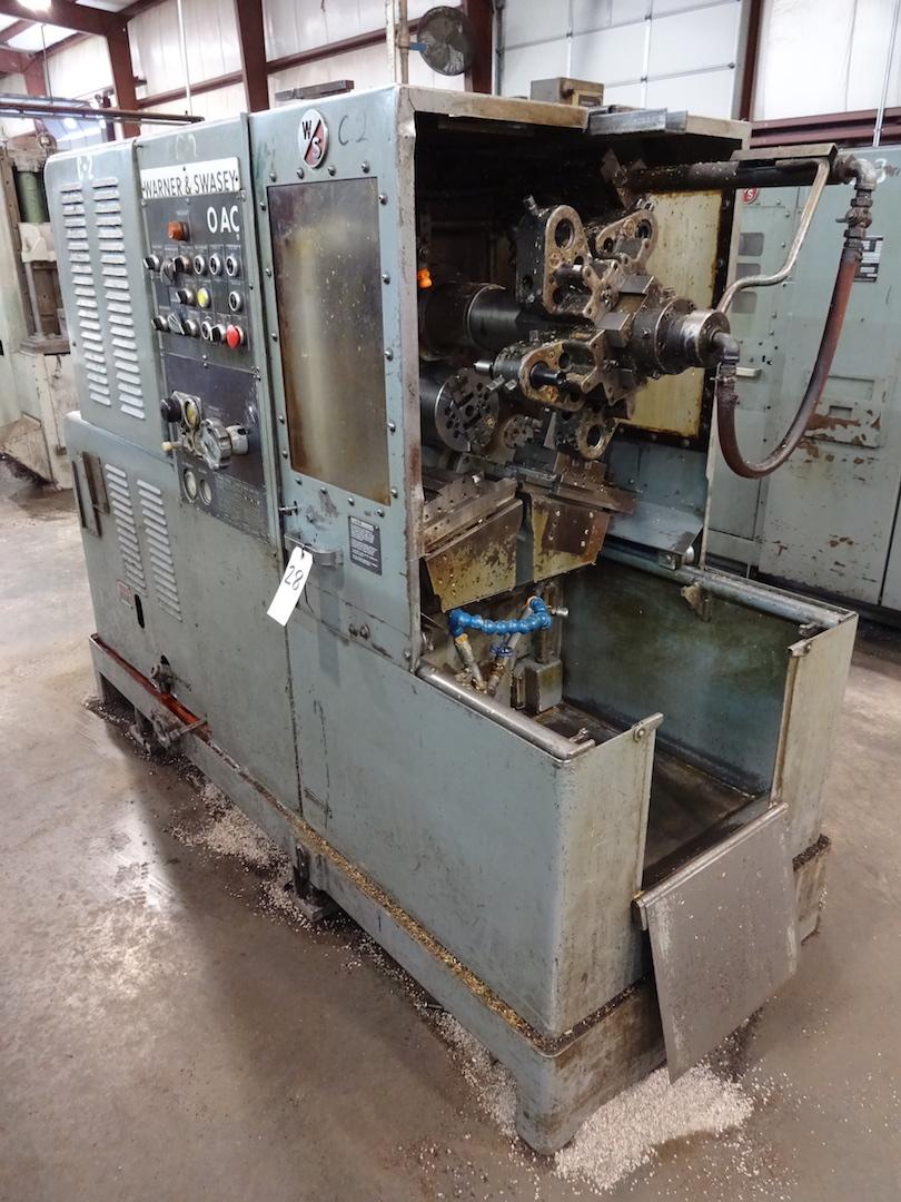 Lot 28 - Warner & Swasey No. 0AC/M-4410 Automatic Chucker, S/N 2619226