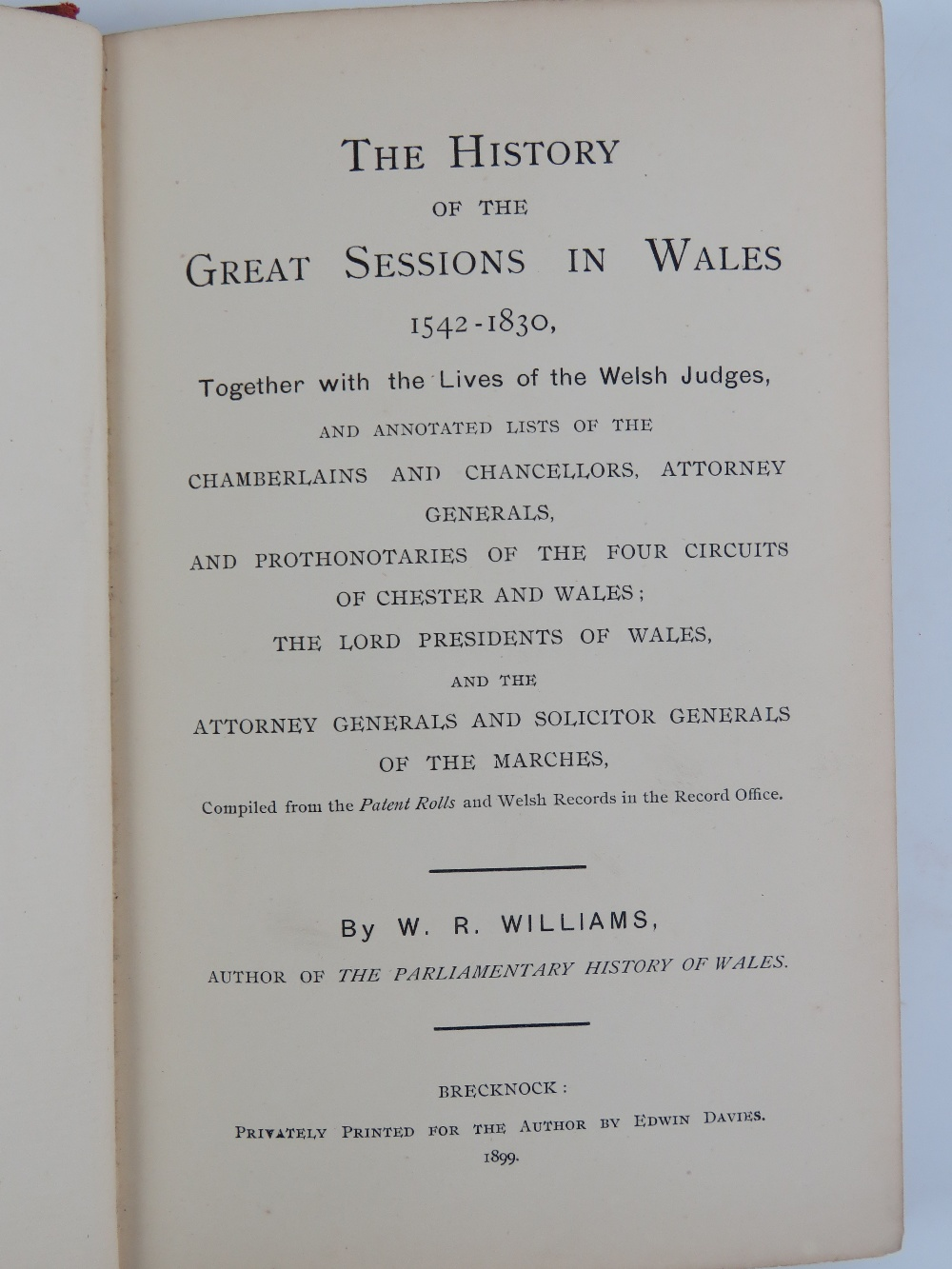 Lot 734 - A quantity of law books including 'The W