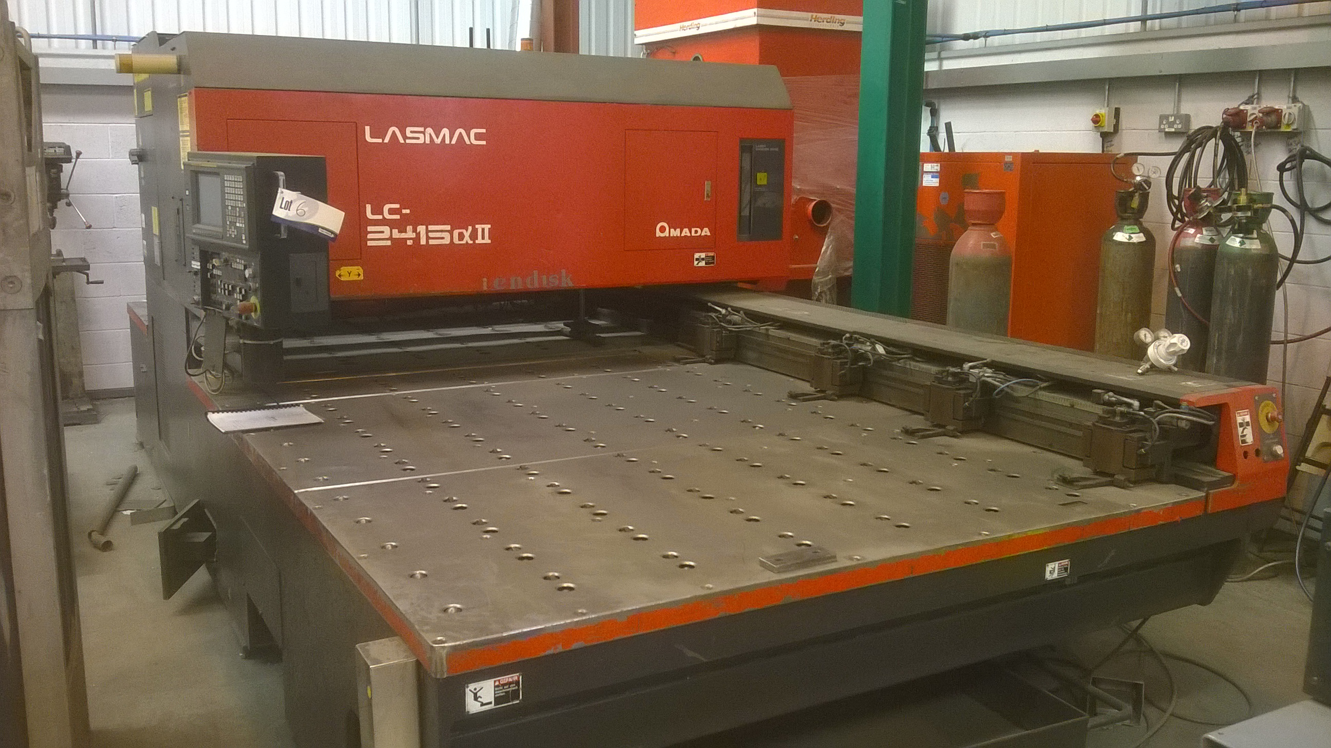 AMADA LC2415A2 CNC Laser Cutter, Serial Number: 1241 5044