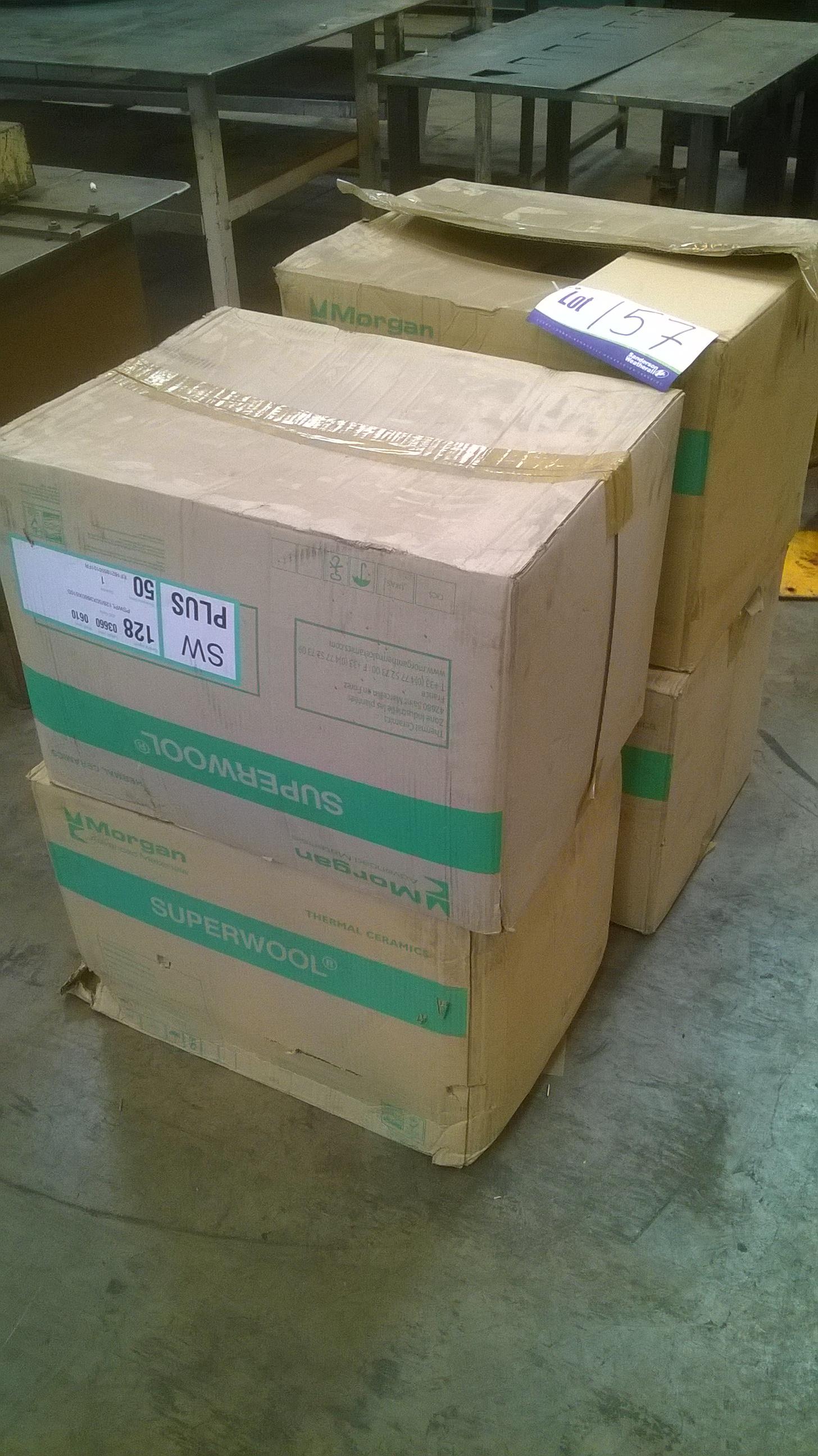 Morgan Thermal Ceramics 4 Boxes Morgan Thermal Ceramics Superwool