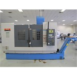 2001 Mazak VTC-200B CNC Vertical Traveling Column Machining Center s/n 152303 w/ Mazatrol PC-