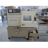 2000 Eguro Nuclet-10GL CNC Gang Tooling Cross Slide Lathe s/n 4161 w/ Fanuc Series 21i-T Controls,
