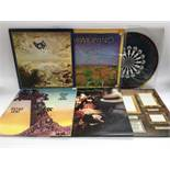 Six prog rock LPs comprising the Hawkwind self titled LP, Curved Air 'Airconditioning', the self
