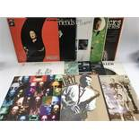 A collection of jazz LPs by various artists including Ramsey Lewis, Stan Getz, Sidnet Bechet and