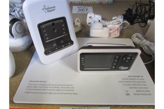 tommee tippee digital baby monitor with sensor pad. Black Bedroom Furniture Sets. Home Design Ideas