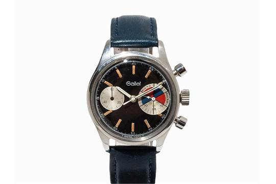 Gallet Chronograph Yachting, Switzerland, C  1955 Gallet