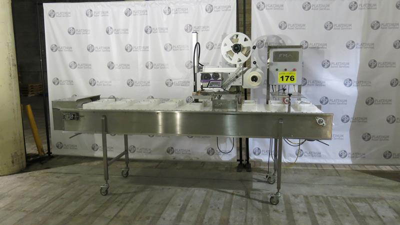 ID TECHNOLOGY, TAMP L250, LABEL PRINTER / APPLICATOR WITH CONVEYOR, S/N R114191601, 2014 (RIGGING $ - Image 5 of 5