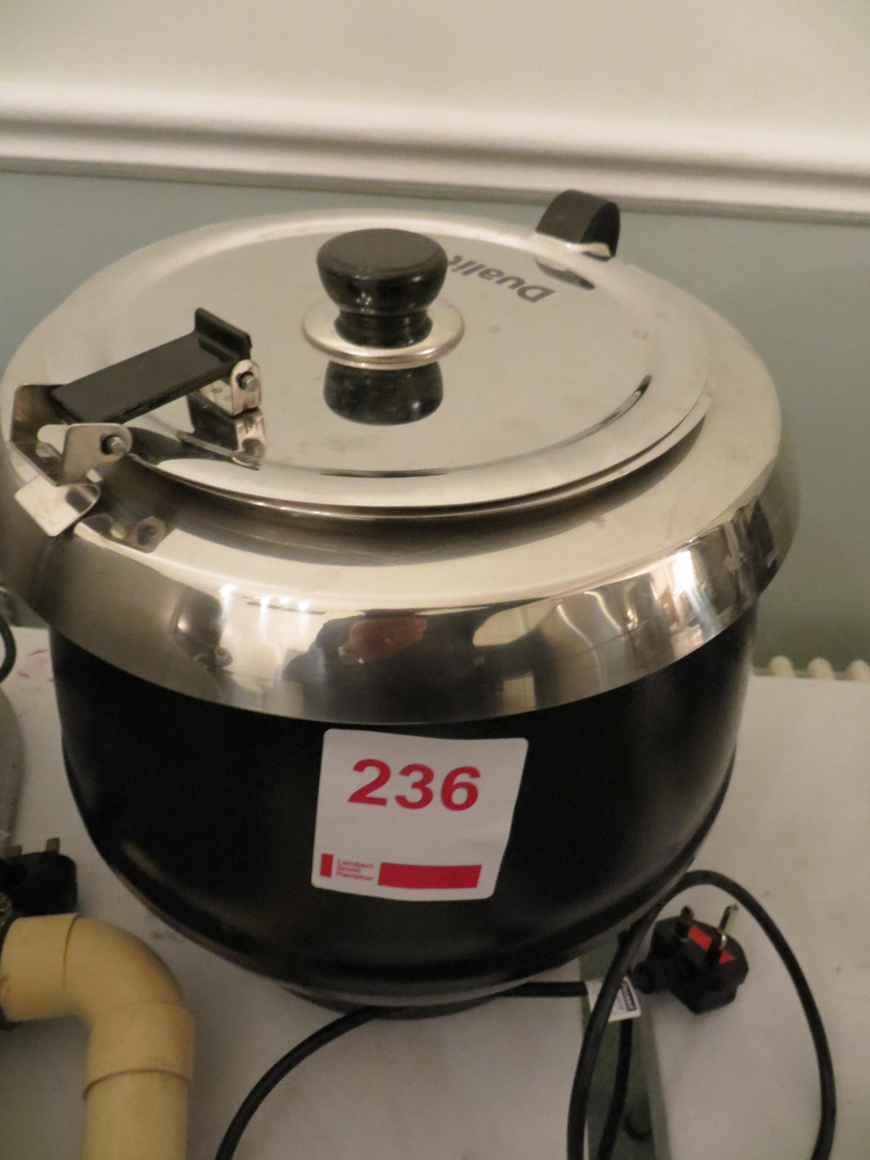 Dualit DSK1B 10 litre soup kettle SUK