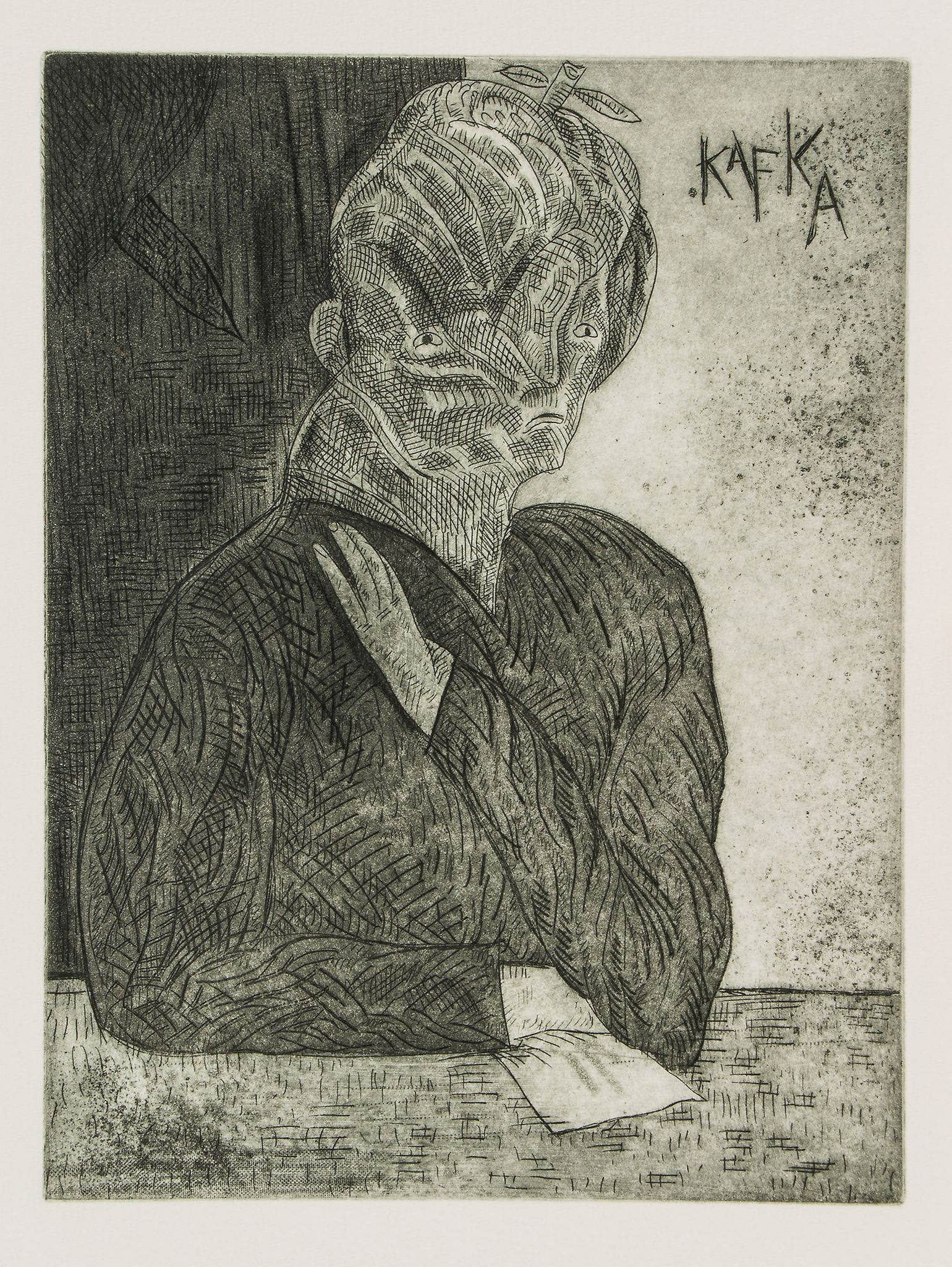 Kafka (Franz) - Metamorphosis, etchings by José Luis Cuevas