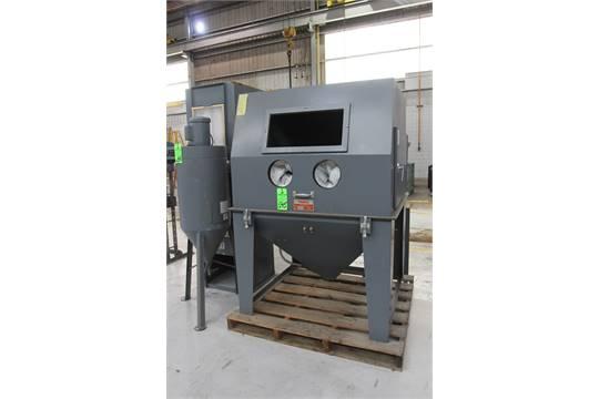 TRINCO 48x48SL/Deluxe Dry Blast Cabinet, S/N. 72616-13 w/ 600RC ...